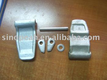 container hinge sets