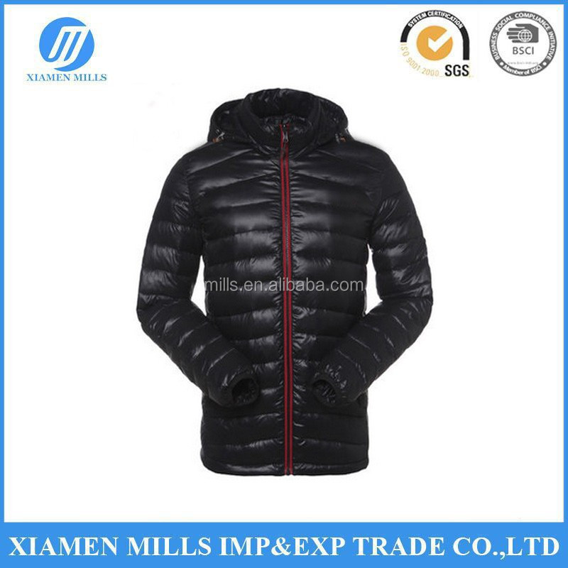 Wholesale Fashion american windproof goose down jacket cheap price