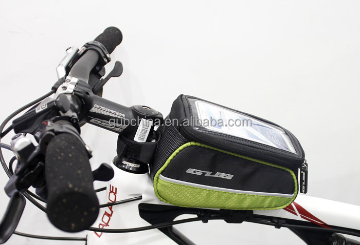 GUB 909 new arrival water proof bike frame bag, bicycle top tube bag
