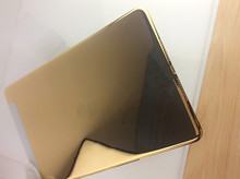 Luxury 24k gold back cover housing replacement for ipad mini