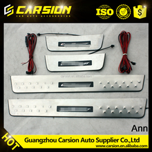 Popular LED door sill plate Ford Ecosport 13+ auto car accessories