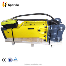 High efficiency hydraulic excavator jack hammer