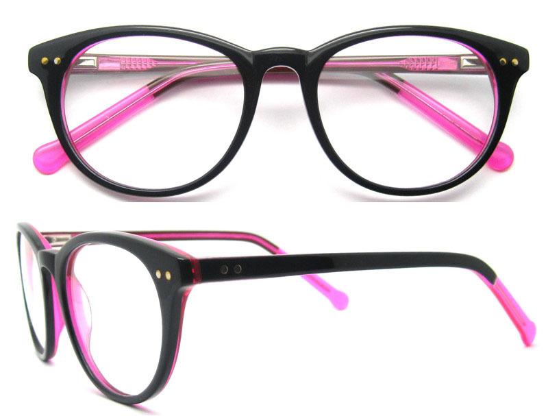Amazoncom PenSee Fashion Horned Rim Rectangular Eye