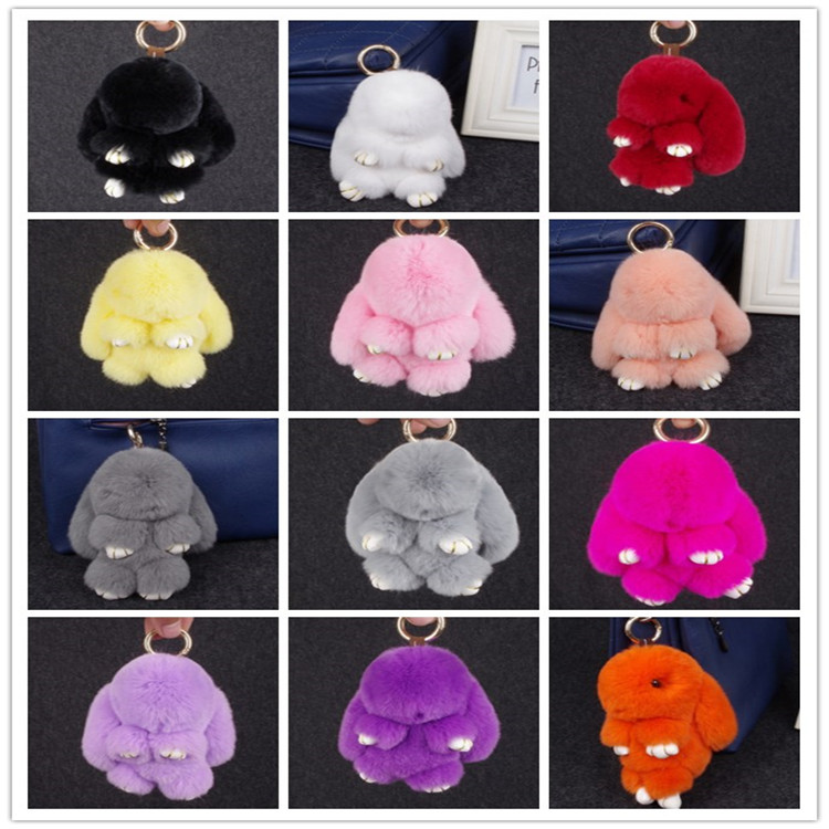 Best quality promotional genuine rabbit fur for sale
