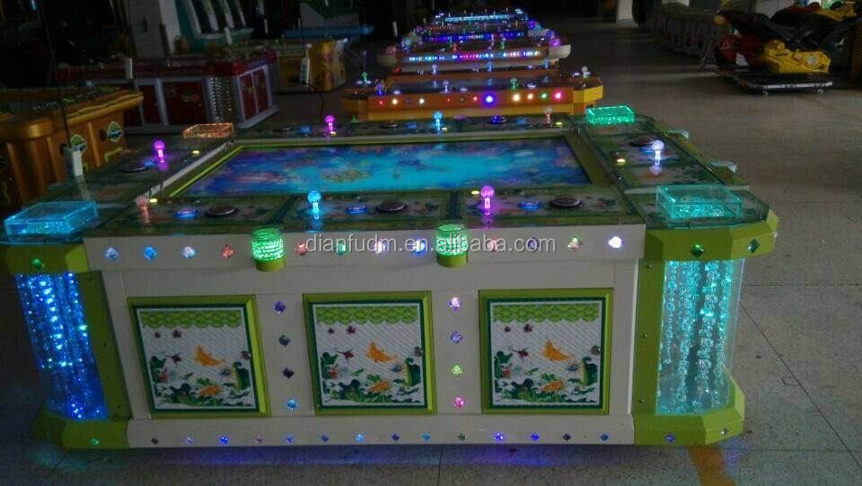 USA hot sale bill accept amusement arcade original IGS fishing games