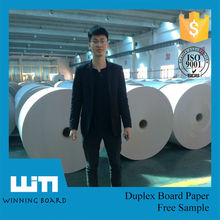 2015 High Quality Ivory paper board / FBB board / SBS board with C1S or C2S
