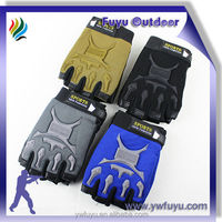 half finger sports glove