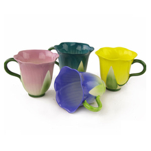 New design charming flower tea cup sets