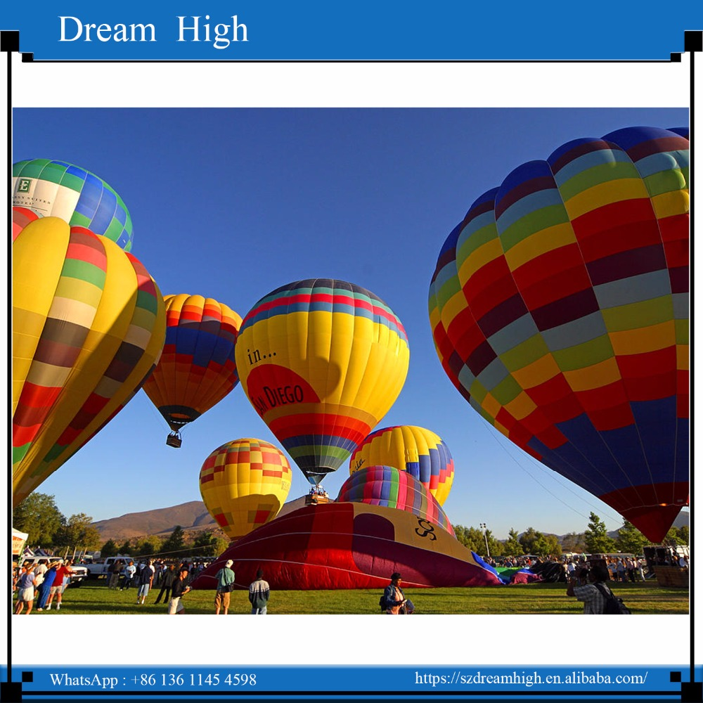 Inflatable used manned hot air balloon price for sale, 2016 inflatable hot air balloon fabric