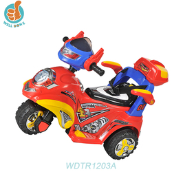WDTR1203A Beatles The Kids Children Electric Motor Tricycle Can Sit Rechargeable Ride On Car Toy Hs Code For Car