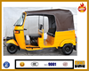 China gasoline/diesel/motorized engine BAJAJ three wheel tricycle for taxi