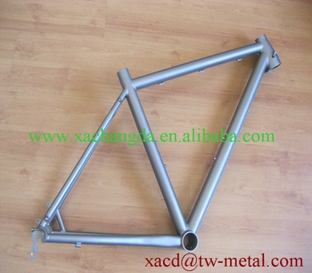 mountain bike frame with taper head tube and breeze dropouts china made bike frame factory direct supply titanium mtb bike frame