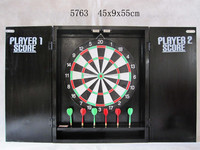 2015 GAME, CABINET DART BOARD, Hot Promotional Magnetic Coin Operated Dart Boards
