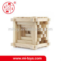 Wooden Kapla building blocks toys from ICTI