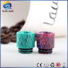 2017 Alibaba Express Delions Epoxy Resin Wide Bore 510 Drip Tips with Factory Price, 528 Goon Kennedy rda