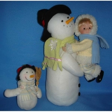 8 inch baby dolls with snow baby lovely