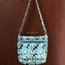 NEW QUILTED FABRIC WOMEN HANDBAG TOTE BAG