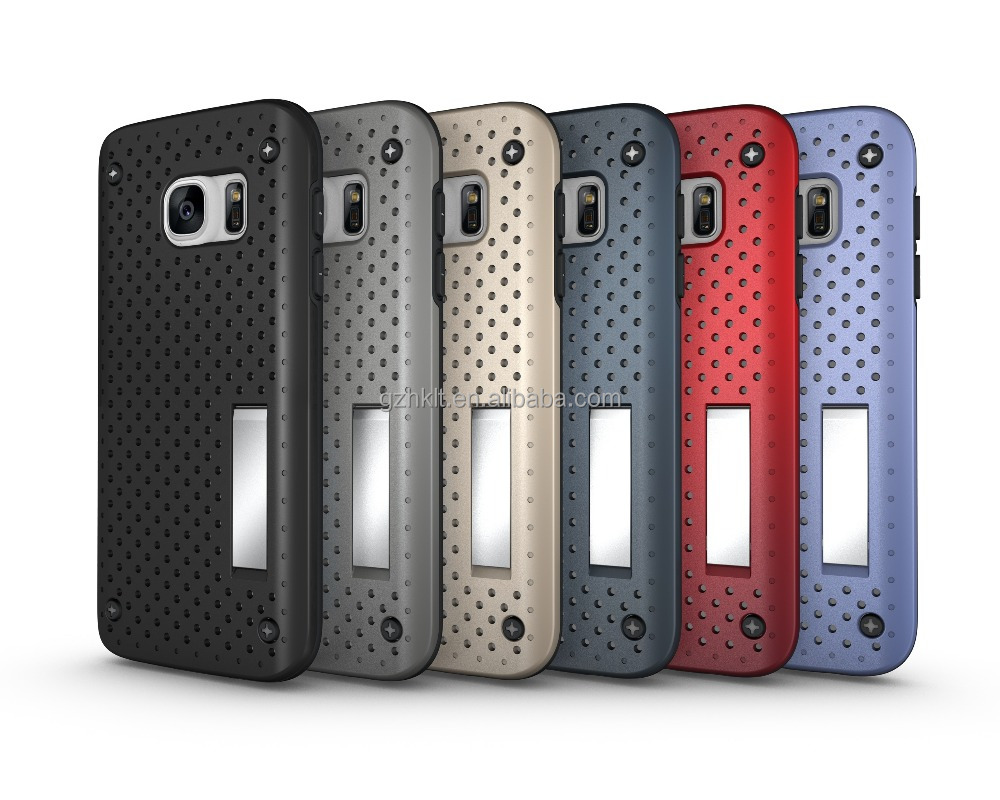 cellphones accessories products wholesale Hot style! heat proof with handle mobile phone case for Sumsung galaxy S7