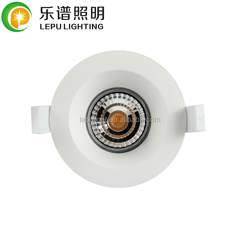 LEPU Deep anti glare downlight low UGR,fireproof,dimwarm/normal dimmable,UGR 13  with 5 years warranty