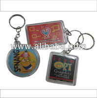 PVC Acrylic Key Chains