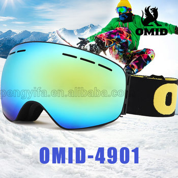 Rimless Replaceable Adult Ski Goggles