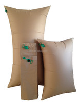 Inflatable air pillow bags for train transportation