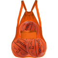 Large capacity mesh sports bag, mesh storage bag for football or basketball and tool toys , mesh backpack