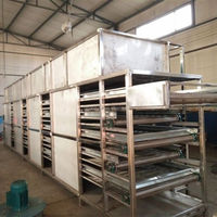 High capacity industrial food dehydrator mesh/ fish drying machine for meat/ seafood