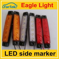 factory price auto accessory 12v/24v truck lights led ligh 100%waterproof