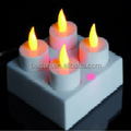 Rechargeable LED Christmas Candle