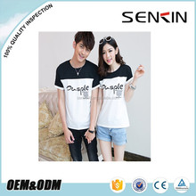 dri fit couple t shirt wholesale fashion design couple t shirts printed for lovers