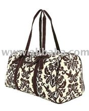 Cotton Quilted Monogrammable Duffle bag