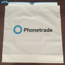 Custom Design Plastic Authorized Drawstring Bags for Apple iPhone Mobile Phone 4 4s 5 5s 5c 6 6s plus