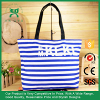natural recycled fashion custom tote shopping 100% cotton beach bag