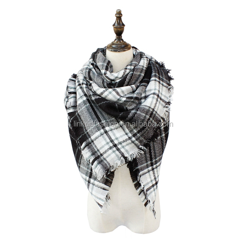Lady Escocia Tartan Plaid comprobado Pashmina Bufanda Wrap chal robó cálido Cuello Nueva