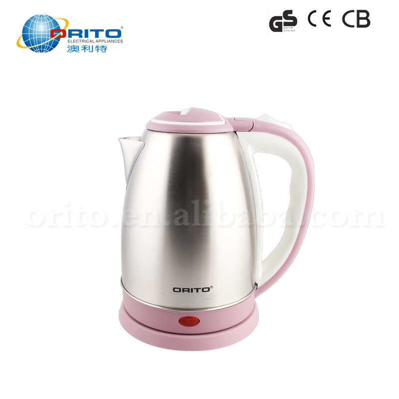 2017 Household appliance 1.5l electric travel kettle stainless steel kettle