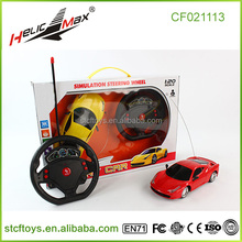 new products 2016 children 1:20 Remote control car 4 channel rc car steering wheel accelerometer play car racing games toys
