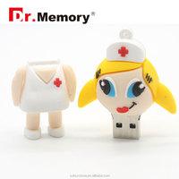 Dr.memory New arrival Doctor Nurse models USB 2.0 Flash Memory Stick Pen Drive 8GB 16GB 32GB dentist USB Flash Drives usb disk