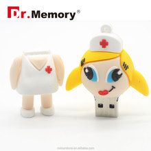 Dr.memory New arrival Doctor Nurse models USB 2.0 Flash Memory Stick Pen Drive 8GB 16GB 32GB dentist USB Flash Drives usb disk