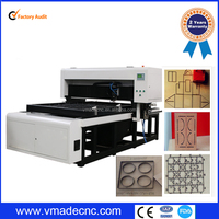 die board/wood/MDF single head laser cutting machine
