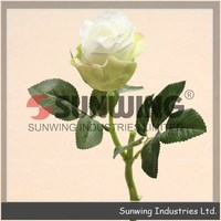 table wedding decoration artificial hibiscus flowers bush