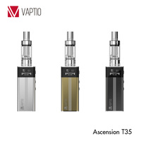 2015 lowest price e-cigarette mini box mod Vaptio T35W box mod arriving with 2100mAh battery