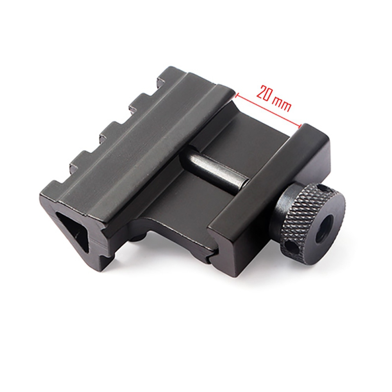 20MM Tactical 223 Re5 Degree Offset Ar15 Scope Rail Mount Weaver Style Mount Gun Rifle Rail