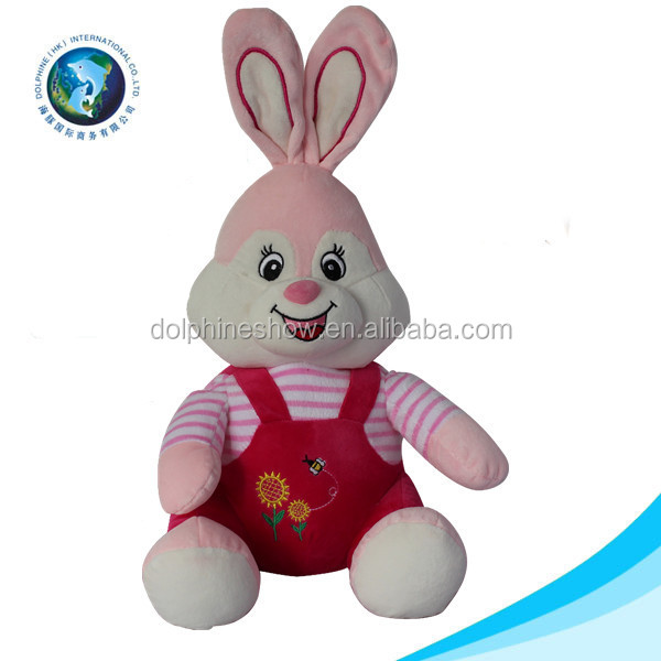 New cute stuffed animal plush rabbit toy