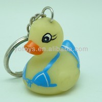 Bikini lovely cheap PVC keyring for gift/ Promotional PVC keyring