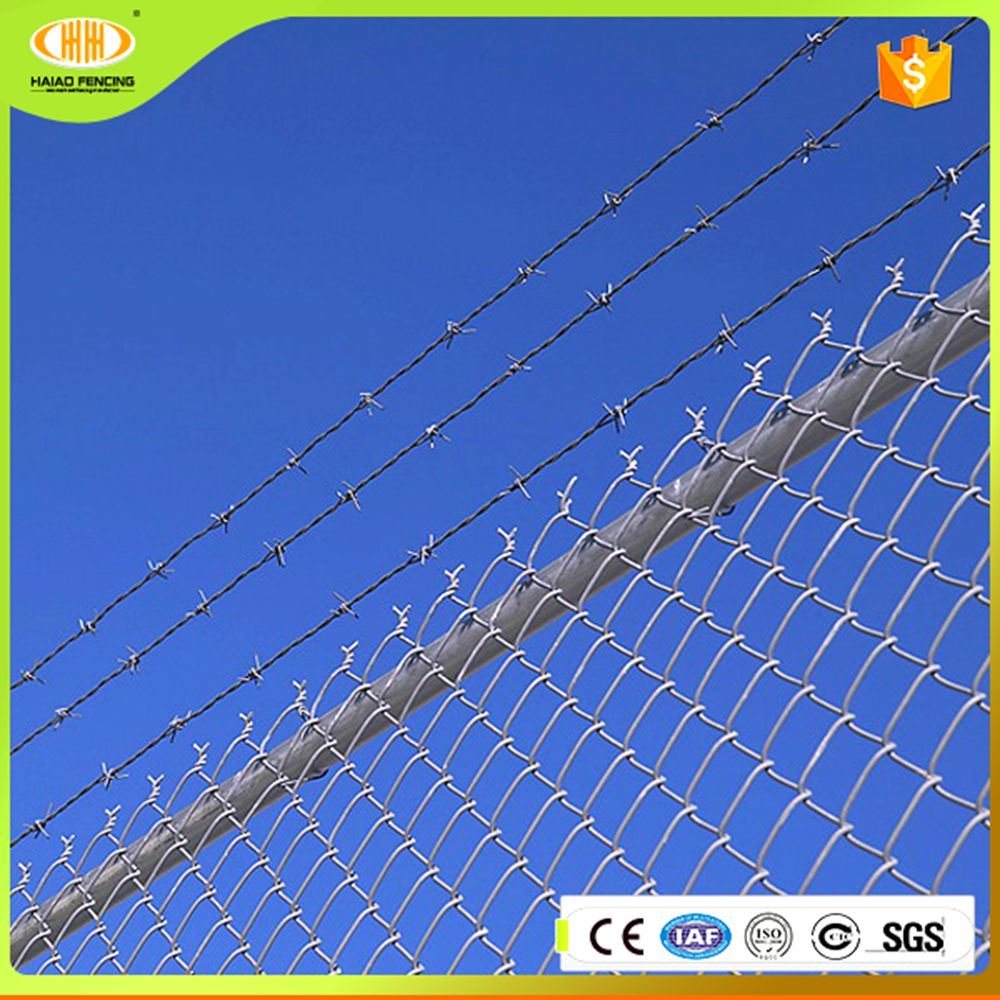 High safety factor residential chain link fence boundaries of the playground
