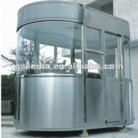 new product from COMA stainless steel prefabricated houses for via parking lot
