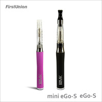 2014 latest invention big battery mod e-cigarette eGo-S & Mini eGo-S electronic cigarette walmart