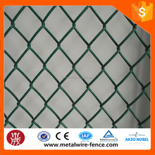 anping factory low price cheap price galvanized pvc coated Chain Link Fence