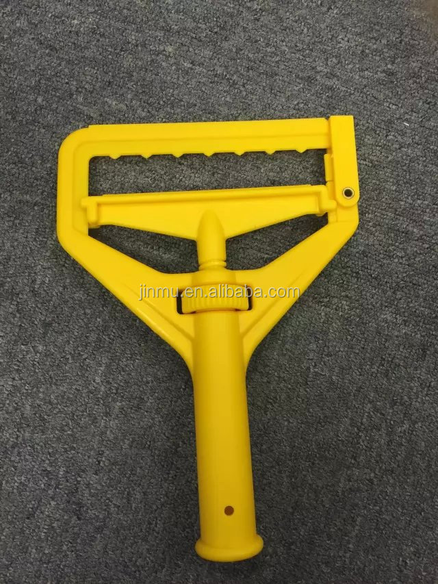 D shape birch wood handle for cleaning tools with high quality